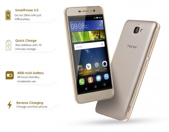 Смартфон-долгожитель Huawei Honor Holly 2 Plus представлен официально