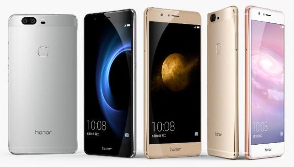 Huawei представила Honor V8 с двойной камерой и 2K-дисплеем
